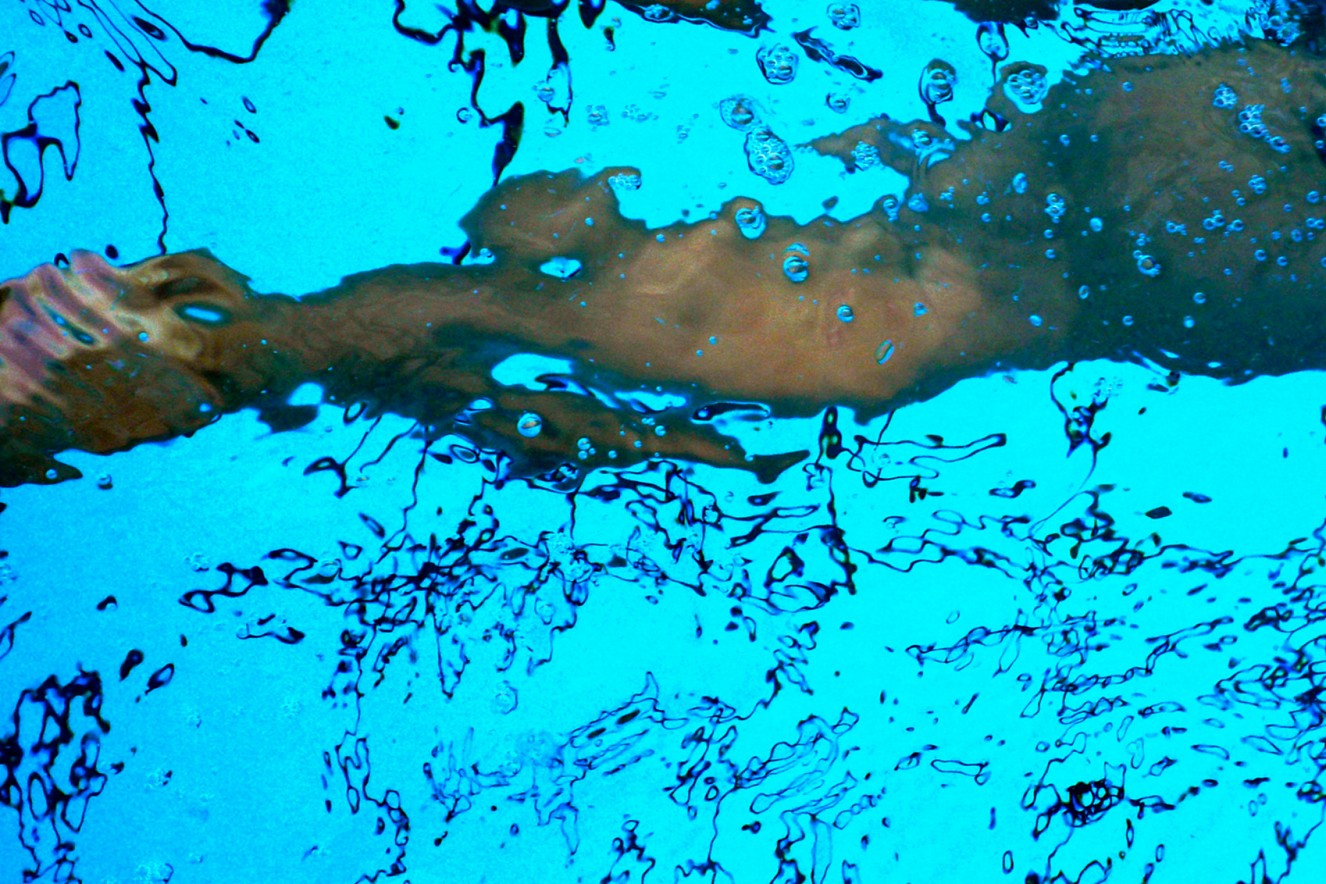 Pool  Endura translucent in Lightbox  40x60 cm, 2009/2019