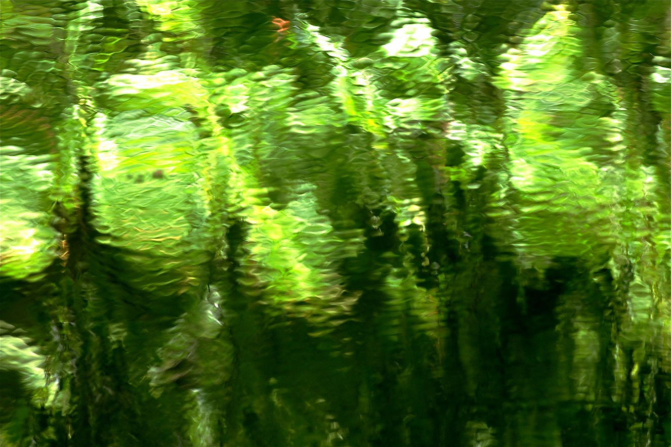 Green Light  Chromira pearl on Aludibond  90x130 cm, 2011/2019