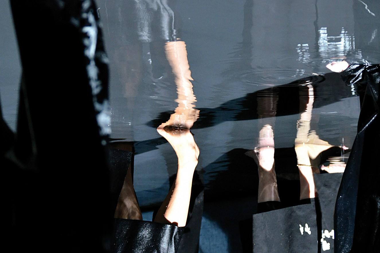 Hades (Beine)  Chromira pearl on Aludibond  40x60 cm, 2013