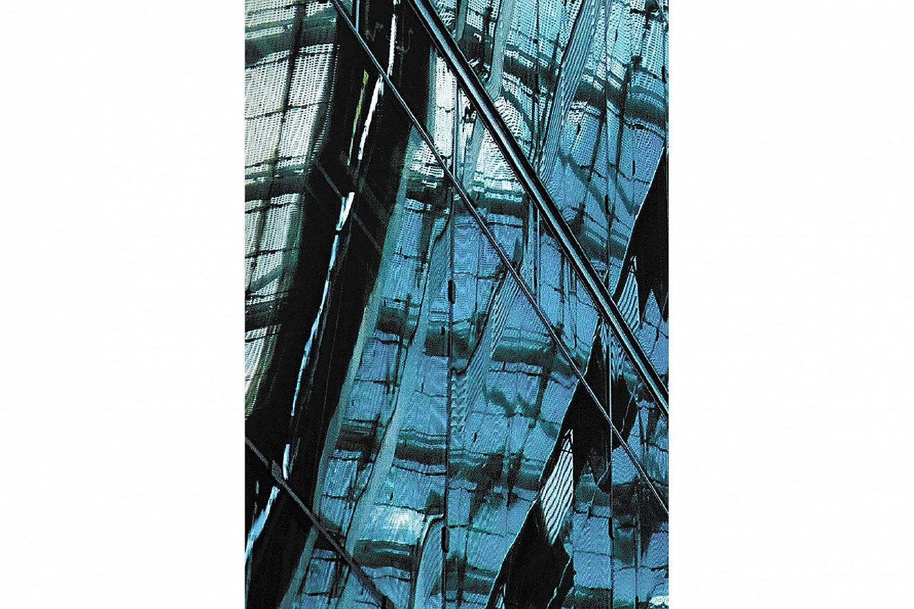 Residence-Insure  Fine Art Print metallic on Aludibond  130x90 cm, 1999/2019