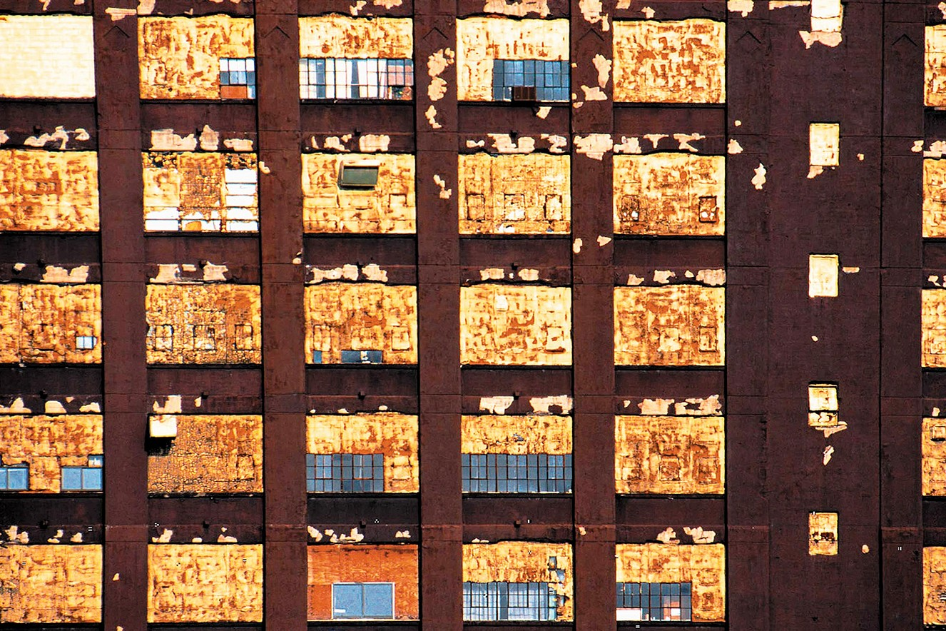 Jersey Window  Lambdachrome under glass  100x130 cm, 1999/2019