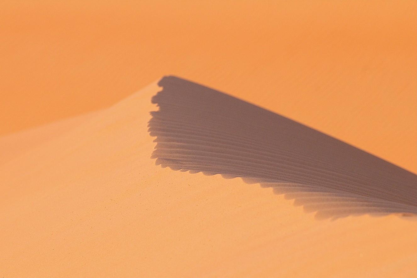Desert Dune  Chromira pearl on Aludibond  90x130 cm, 2011/2019