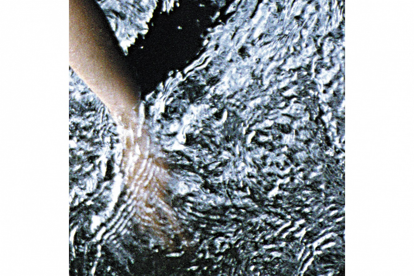 Hand_drift  Fine art print metallic on Aludibond  60x60 cm, 2001/2019