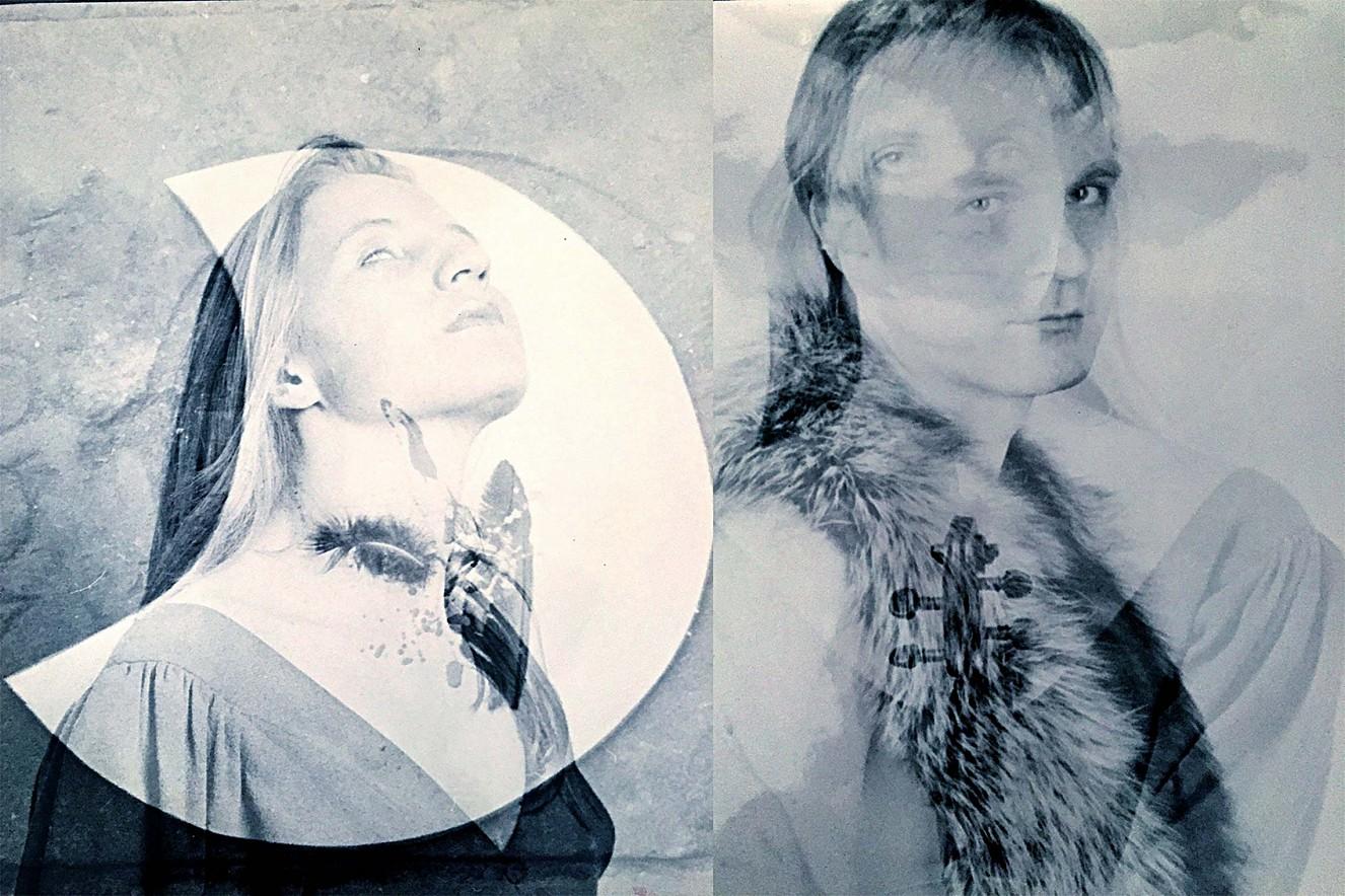 Bruder Sonne - Schwester Mond  Fotos auf Barytpapier, je 60x50 cm  Galerie Condé, Goethe Institut, Paris, 1996