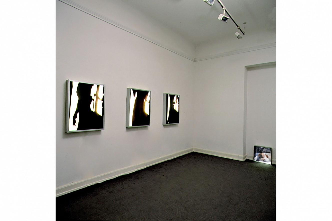 Passage I - III und Derwisch  je 60x80 cm, und 44x44 cm, Endura Translucent  in Leuchtkästen, Galerie Erhard Witzel Wiesbaden