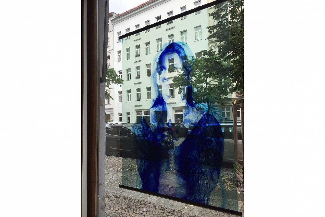 Double Jeu  Endura translucent, 100x70 cm  Galerie Gondwana, Berlin, 2018