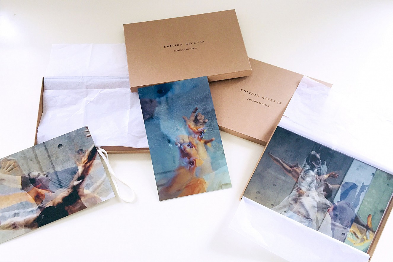 Edition Riven in Time Fine Art Print Metallic on Aludibond in box each 21x29,7 cm or 29,7x42 cm, 1/20