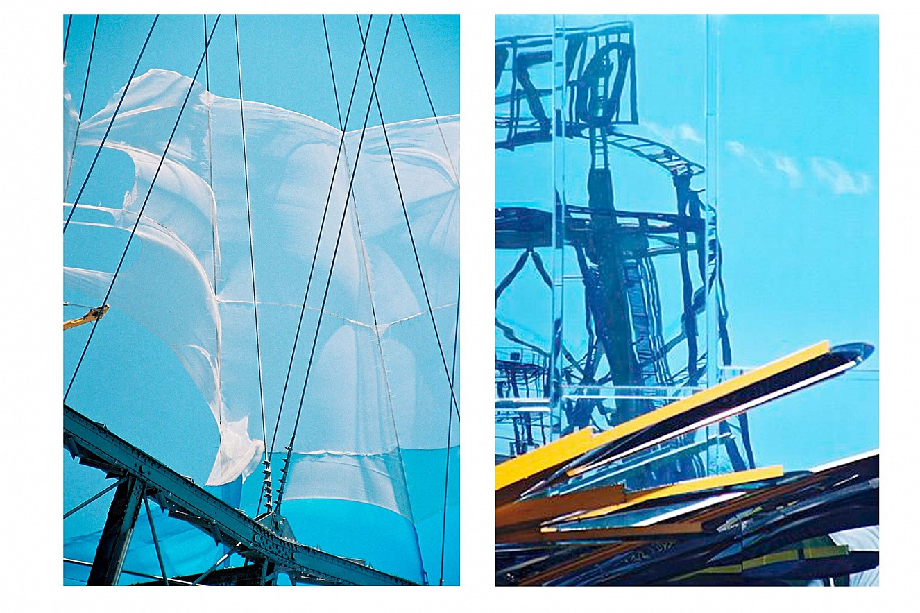 Prater I und II  Fine Art print metallic on Aludibond  each 42x29,7 cm, Edition Serie Exchange Places