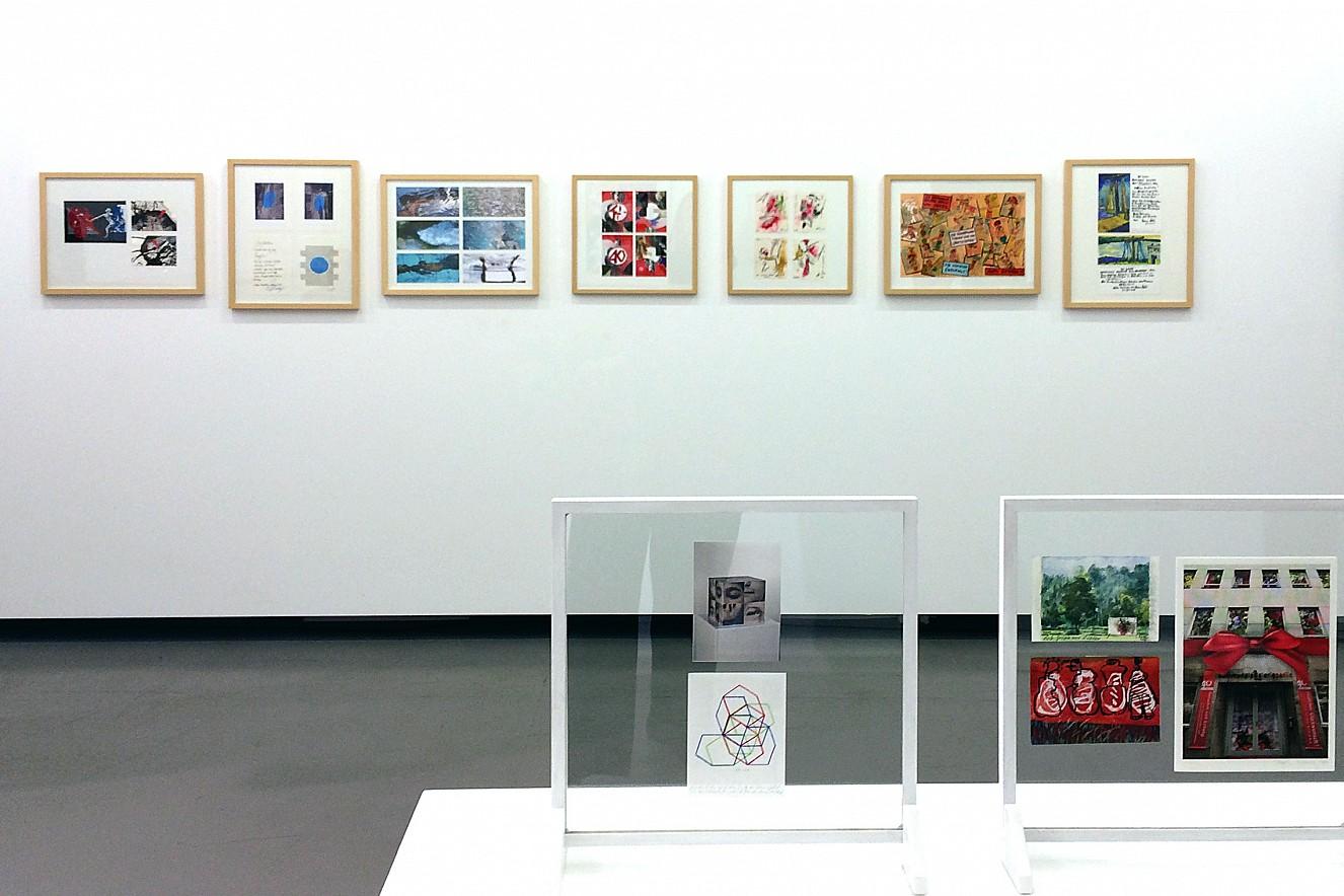 Postkartenedtion (6er)Set  drittes Bild von links  je 11x22 cm, Offset Metallic    Kommunale Galerie Berlin am Hohenzollerndamm