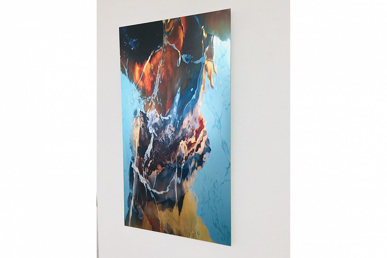 Macha Strings  90x50 cm, Fine Art Print Metallic on Aludibond  Galerie M.concept raum+design, Potsdam, 2020