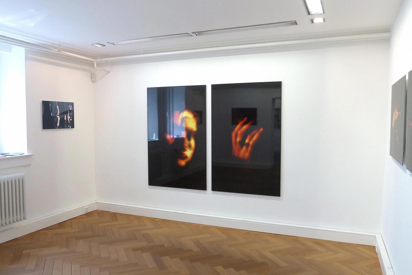 Hand und Kopf  each 150x100 cm, Fine Art Print under Glass  Hochheimer Kunstsammlung, 2014