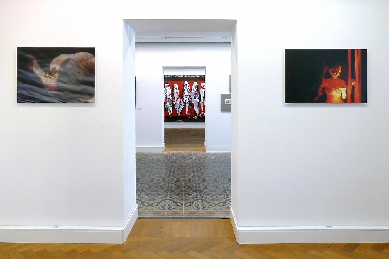 Drum und Cosmic Interlude  each 50x75 cm, Chromira pearl on Aludibond  Hochheimer Kunstsammlung, 2014