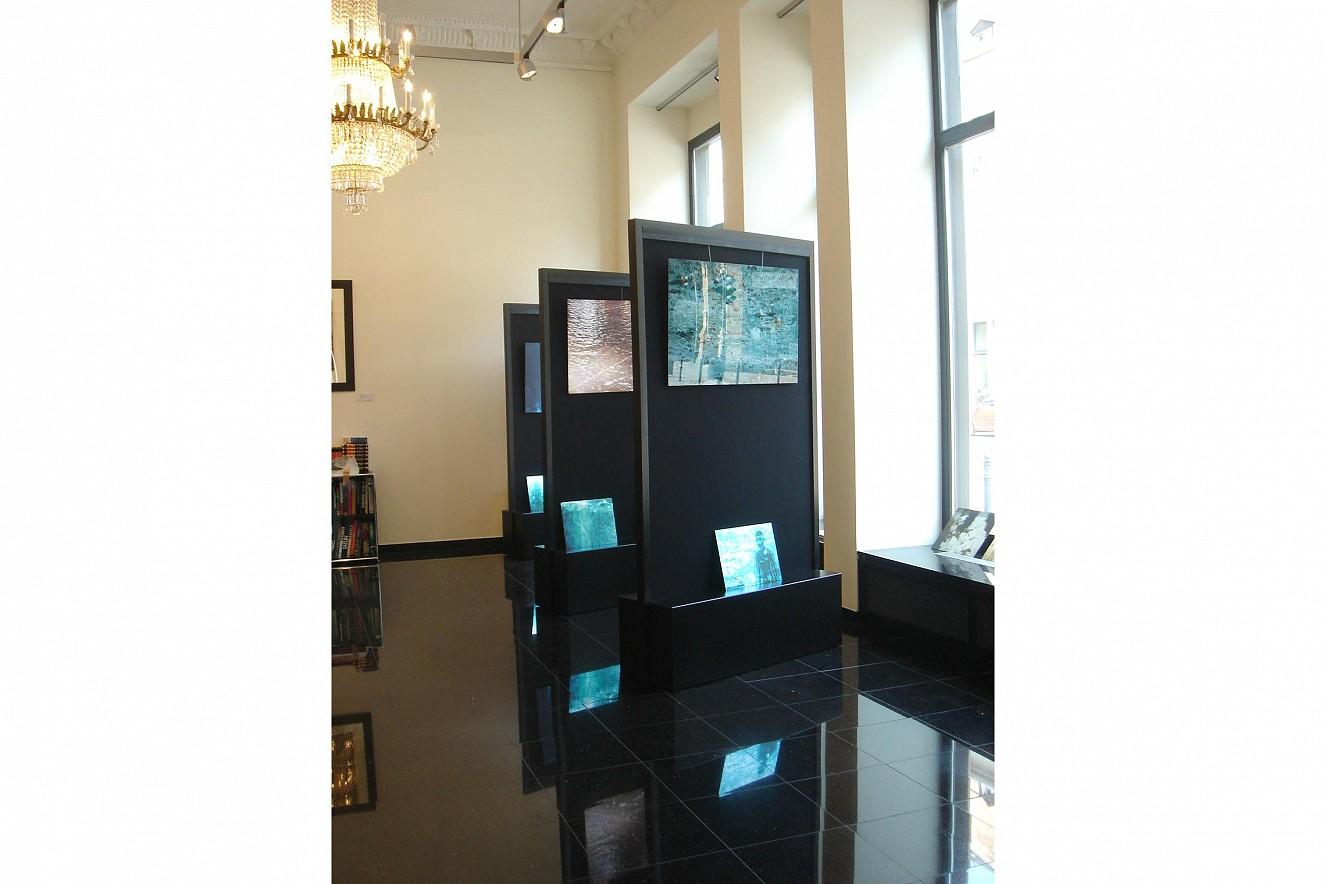Wasserspiegelungen  Fine Art Print under Glass  Ausstellung SNZ Galerie Wiesbaden