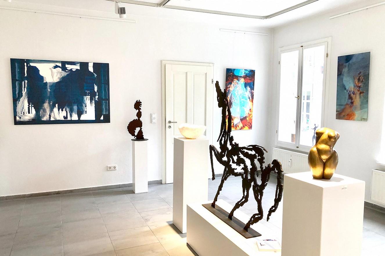 In Perpetuum, Macha Strings und Riven in Time II  Fine Art Print Metallic on Aludibond  Galerie M.concept raum+design, Potsdam, 2020