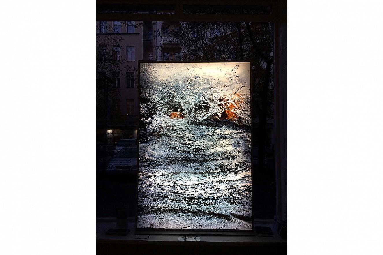 Whirl  Endura translucent in Lightbox  176x130x14 cm, Neue Galerie Berlin, 2016