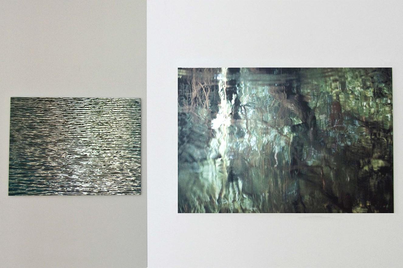 Momentum - Zellfliessen Fine art Print metallic on Aludibond, each 90x130cm, Galerie Bergner& Job, Mainz