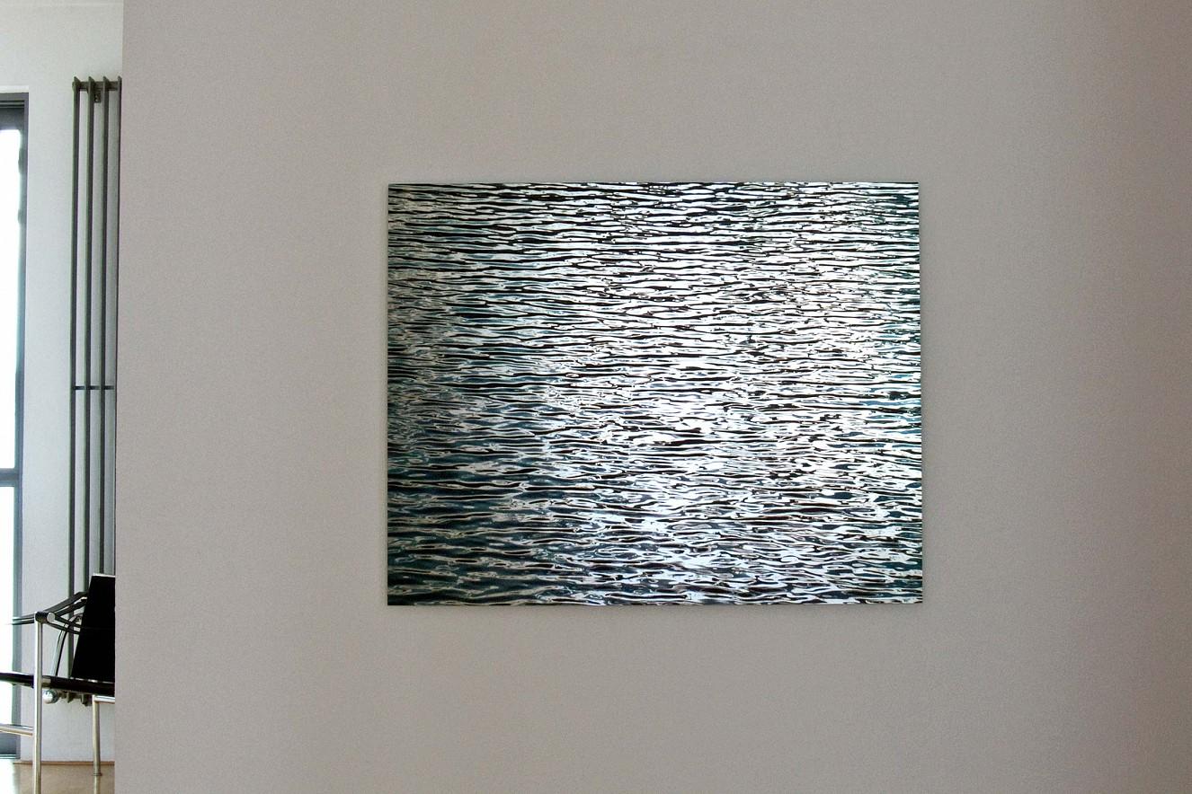 Zellfliessen  Fine art Print metallic on Aludibond  90x130cm, Galerie Bergner& Job, Mainz