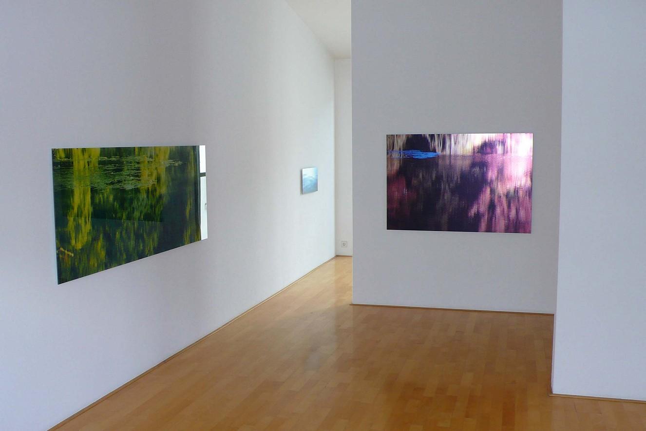 Halenfog_green and Camouflage  Fine art Print metallic on Aludibond  je 75x180 cm, Galerie Bergner& Job, Mainz