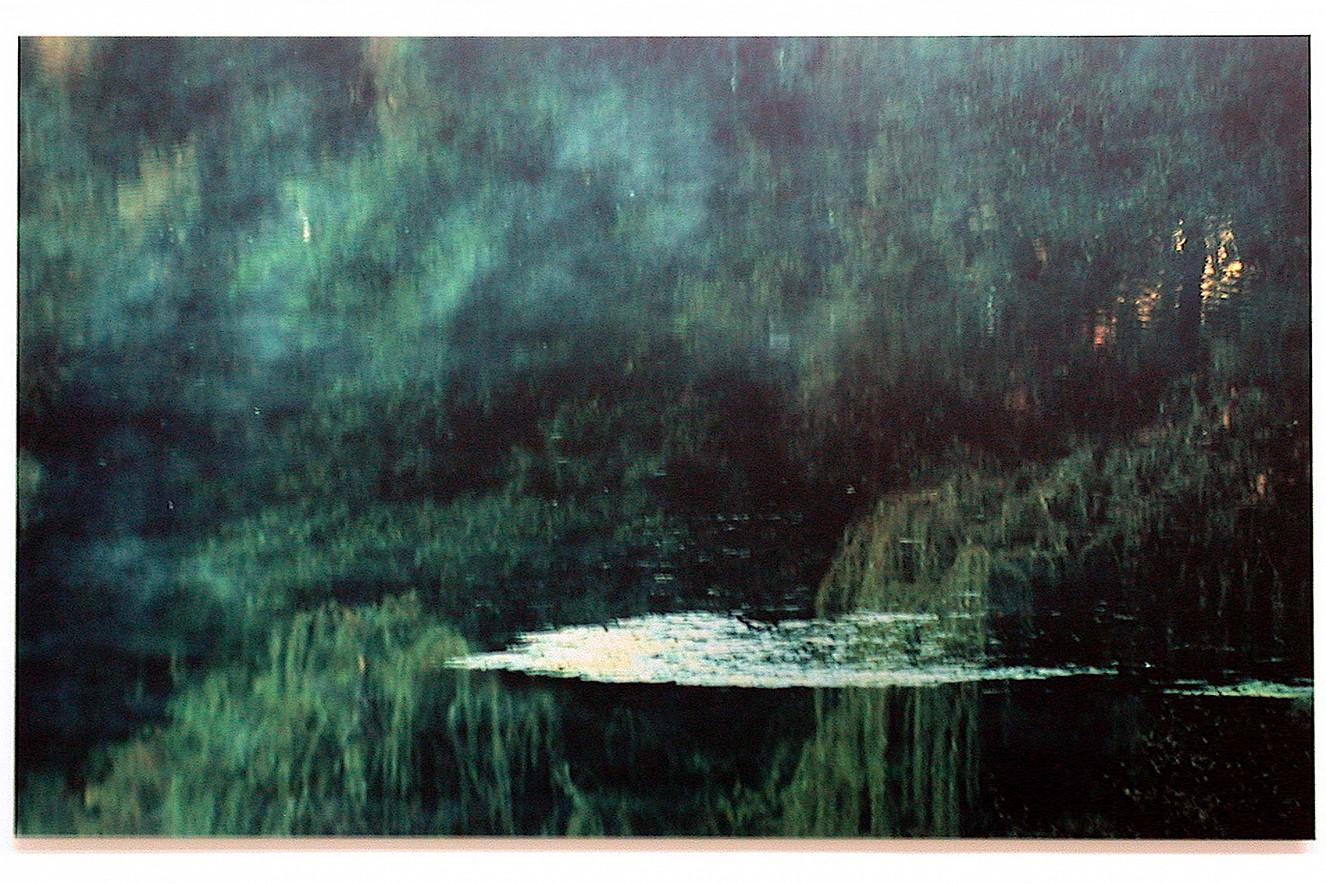 Camouflage Moment  90x130 cm, Fine art Print metallic on Aludibond