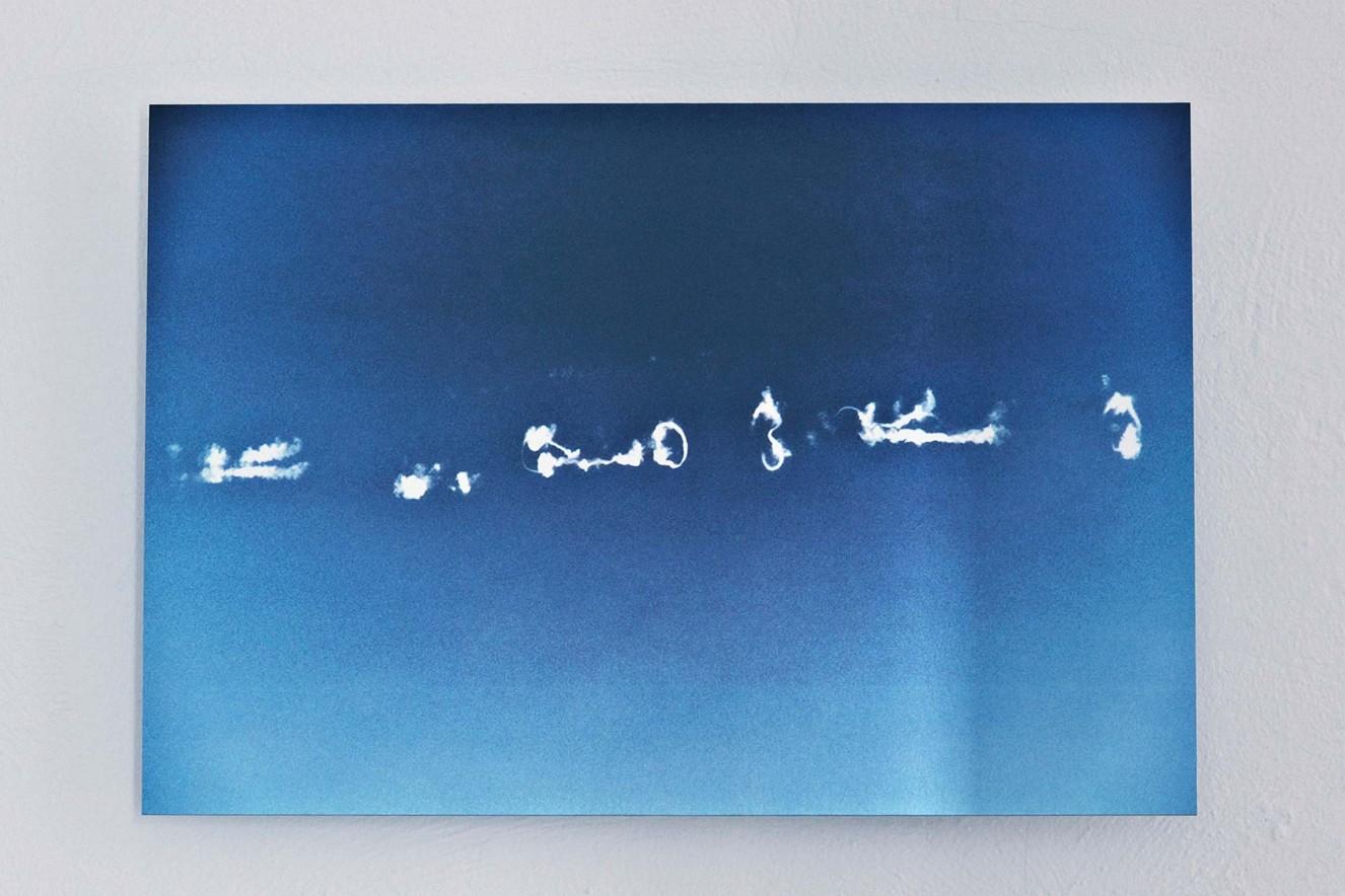 Sky  30x40 cm, Fine art Print metallic on Aludibond  Galerie Bergner & Job, Mainz