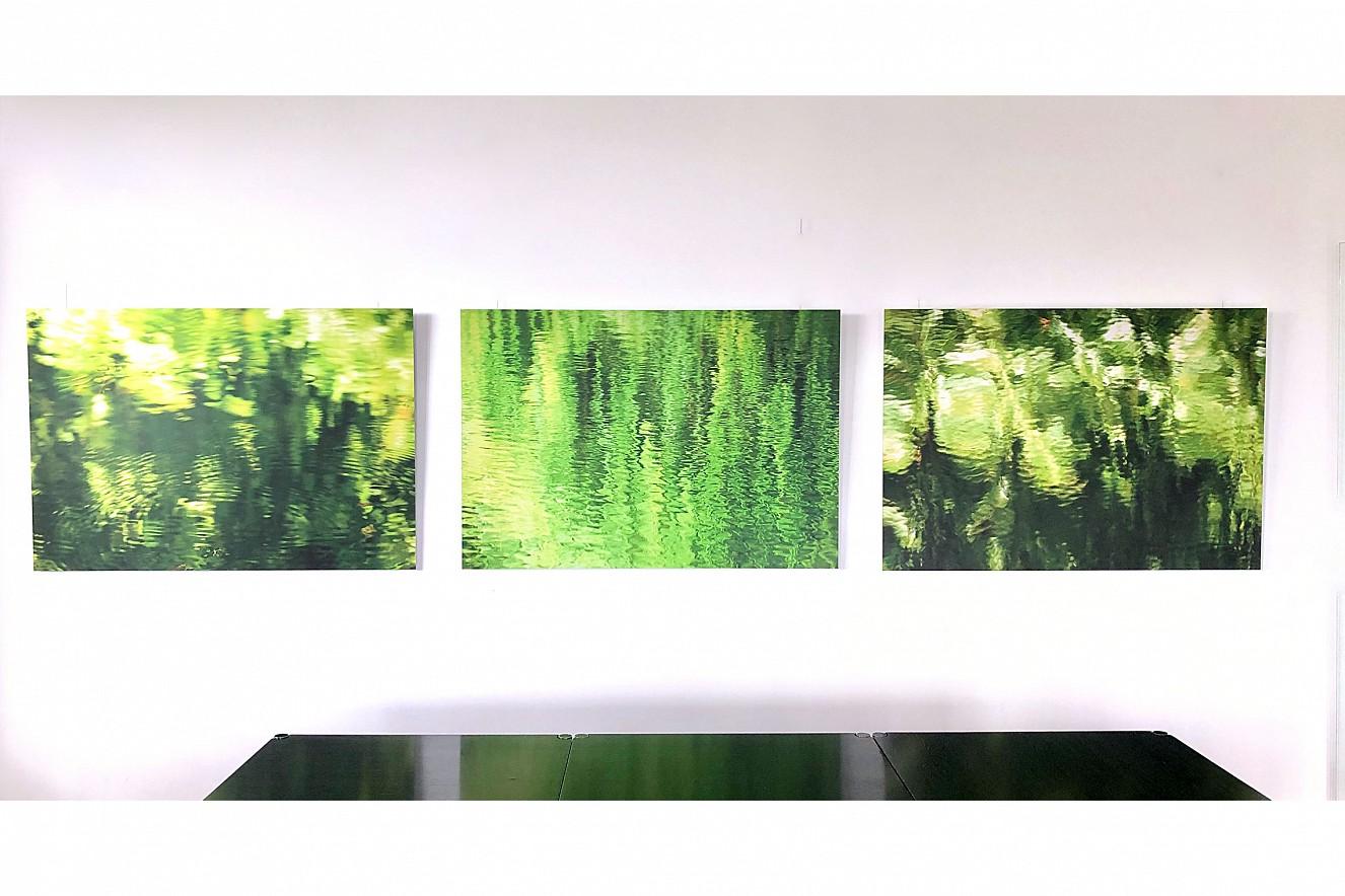 Lichte Wasser - Greenlight I-III  Ausstellung BVI, Deutscher Fondsverband   Berlin Unter den Linden, 2019