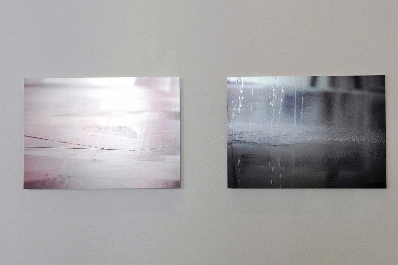 Ultracut, Ultrarain  Fine Art Print Metallic on Aludibond  each 40x60cm, 2007, Galerie Futura, Berlin