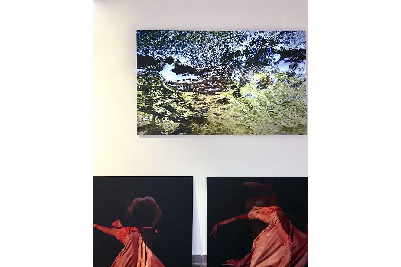 Aeon and Seh(n)sucht  Fine Art Print Metallic on Aludibond  90x130 cm, 2019 und je 70x90cm