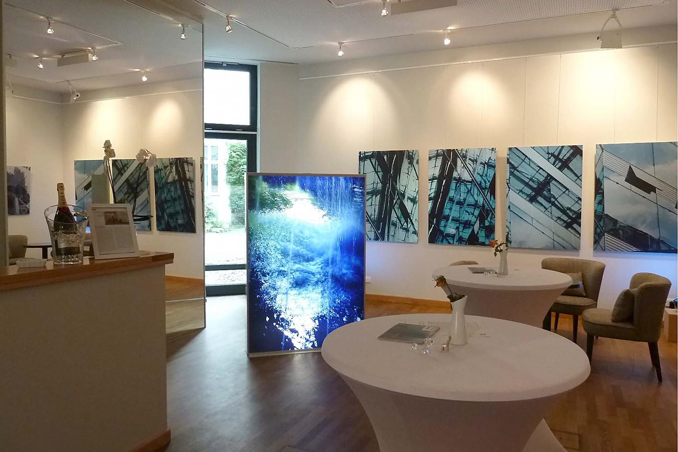 Spring und Insure und Kranzler I - IV Endura translucent in Lightbox, Fine Art Prints ForBe Gallery, Berlin Charlottenburg, 2013