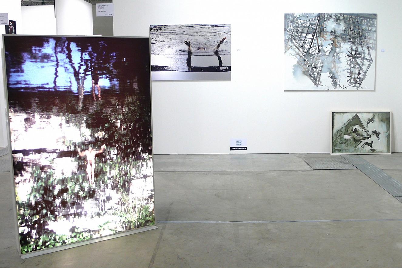 Jump/Karst und Wake Lightbox und Fine Art Print Metallic Art Fair Cologne mit Galerie Jörg Heitsch, München