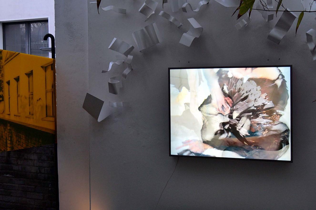 Saori Underwater  70x100cm, Endura translucent in Lightbox  (0utdoor), Düsseldorfer Photoweekend