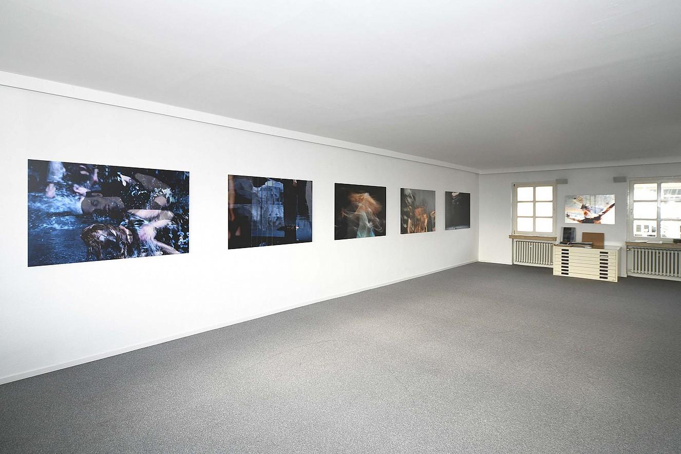 Orfeo und Riven in Time Shadow  Fine Art Print Metallic auf Aludibond  Galerie Karin Melchior, Kassel, 2019