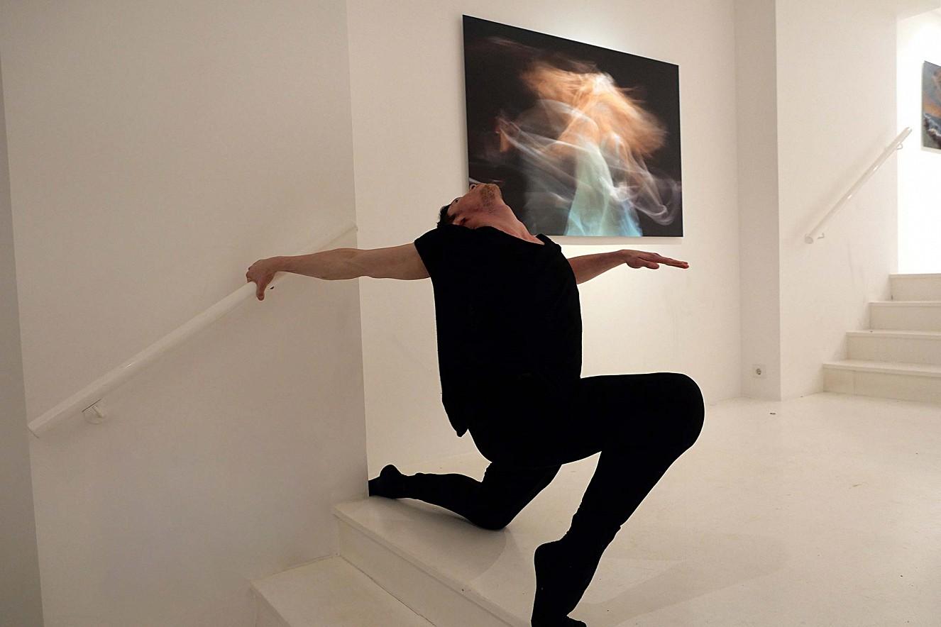 Eurydice  Fine Art print Metallic und Tanz Paul Calderone   Galerie Lausberg, Düsseldorfer Photoweekend