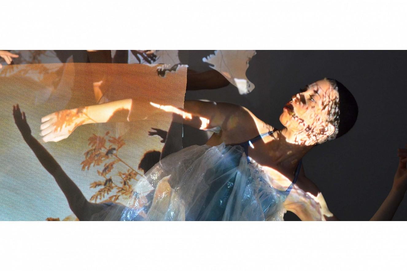 Videoprojektion   Tanzcompagnie Puls'Art   Choreografie Macha Melanie, Montpellier