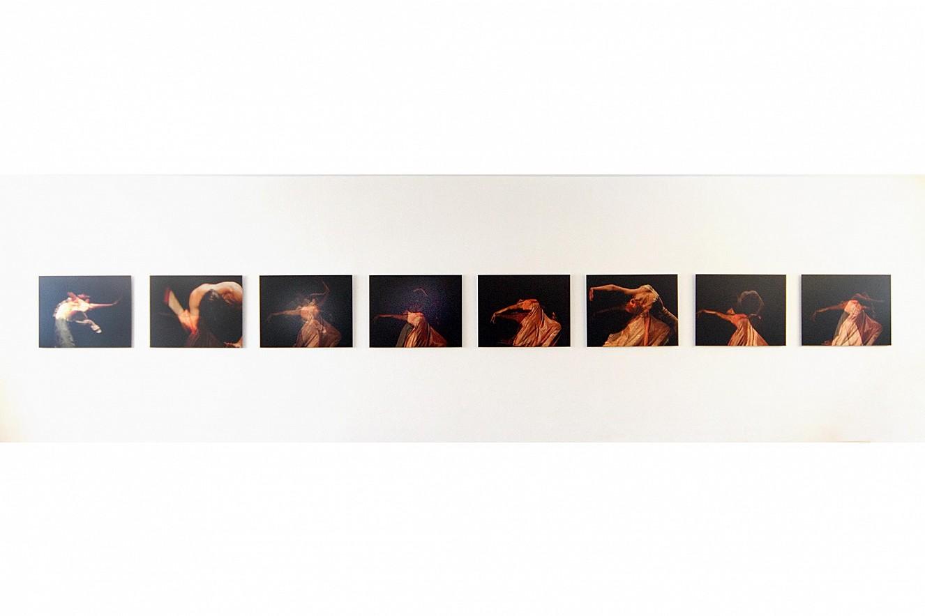 Seh(n)sucht- Dance, neunteilige Serie  je 70x90 cm, Chromira pearl on Aludibond  Ausstellung Balance, Galerie Melchior, Kassel