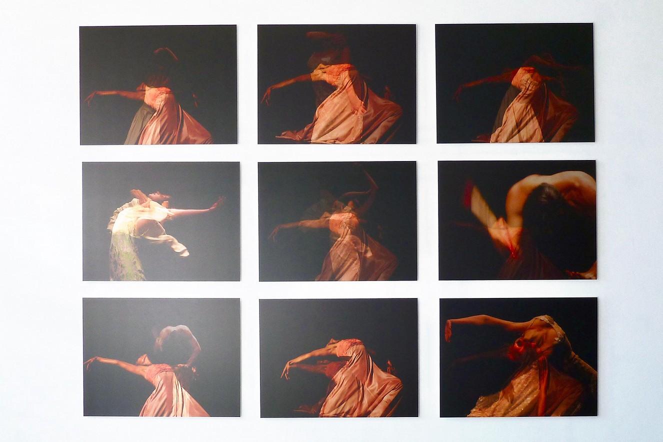 Seh(n)sucht-Dance Serie  je 70x90 cm, Chromira pearl on Aludibond  Kunsthalle Brennabor 2013