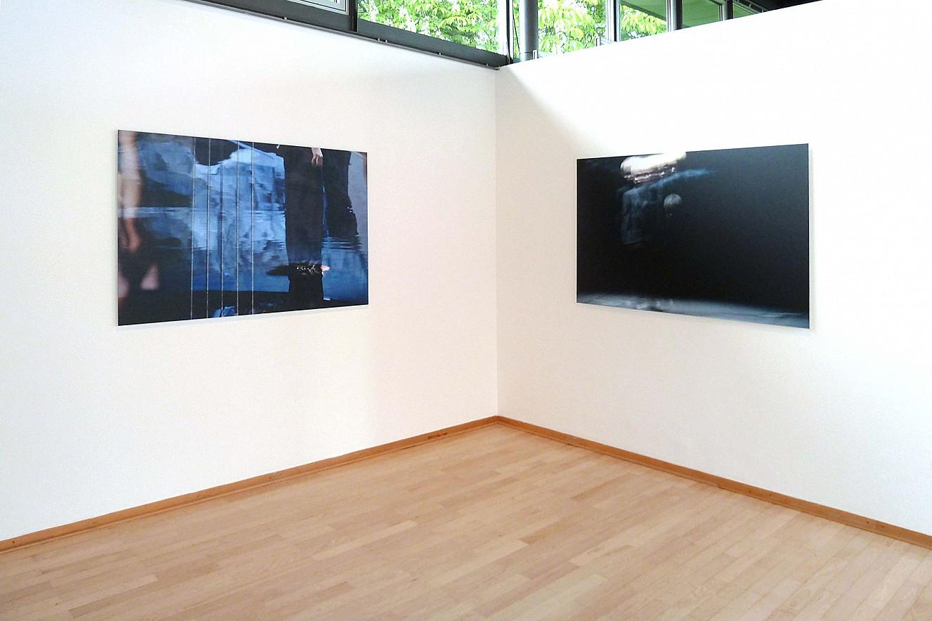Tanz&Tod  Werkserie Orfeo, Styx, Junge (Hades)  je 100x145cm, Sepukralmuseum Kassel
