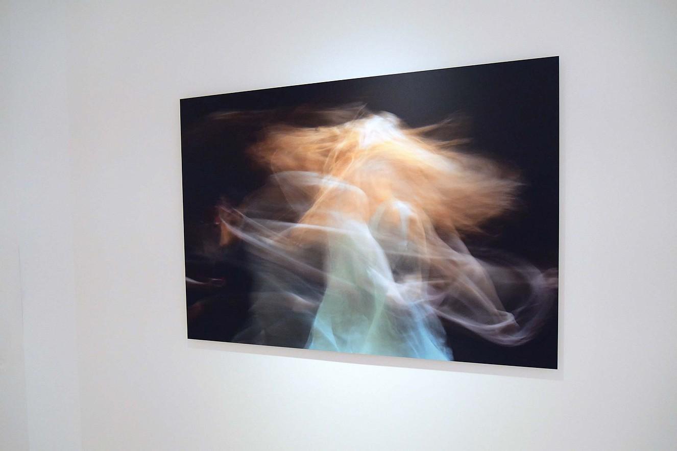 Eurydice  100x145cm, Chromira pearl auf Aludibond  Ausstellung Galerie Lausberg, Düsseldorf