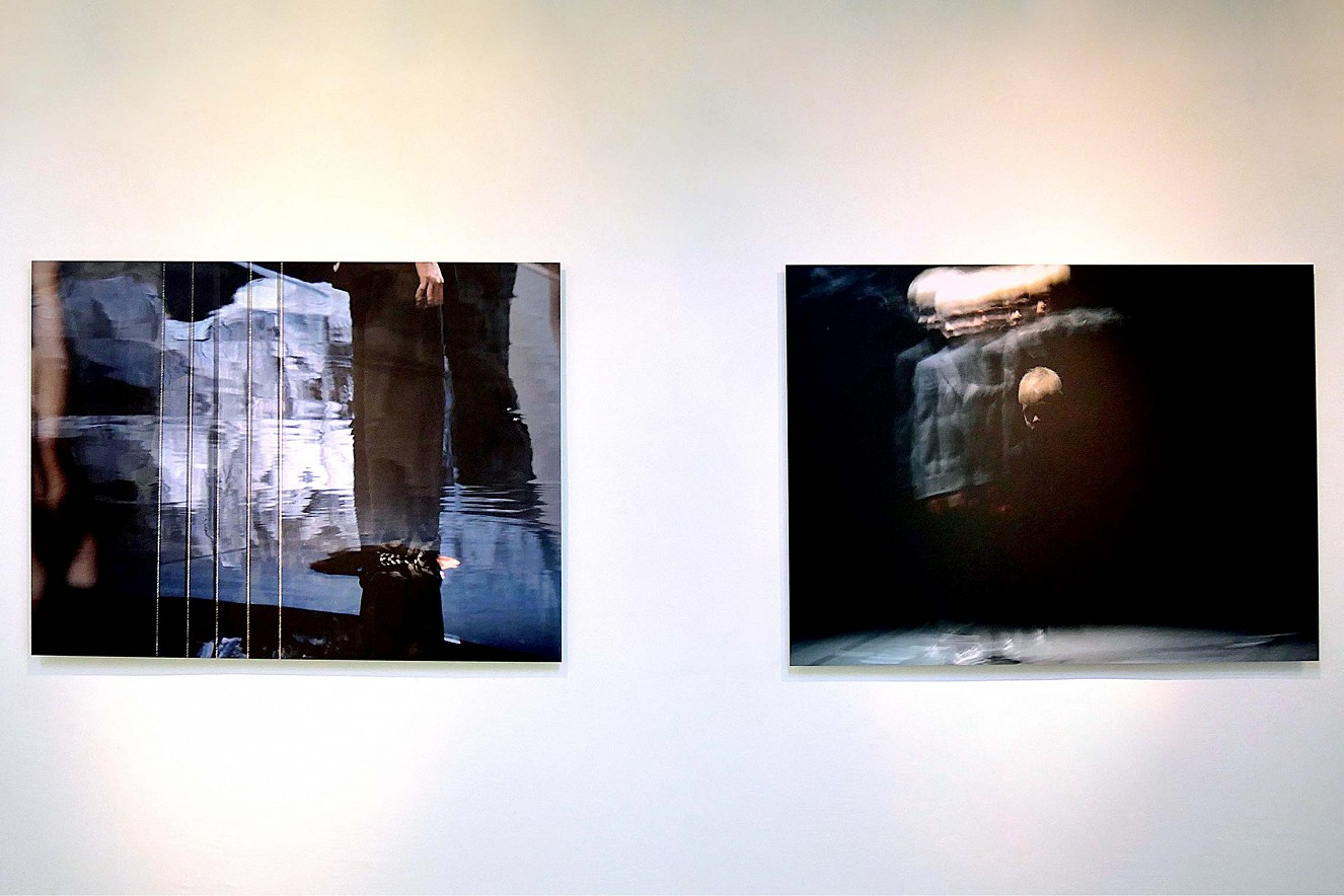 Tanz&Tod  Werkserie Orfeo, Styx, Junge (Hades)  je 100x145cm, Chromira pearl auf Aludibond