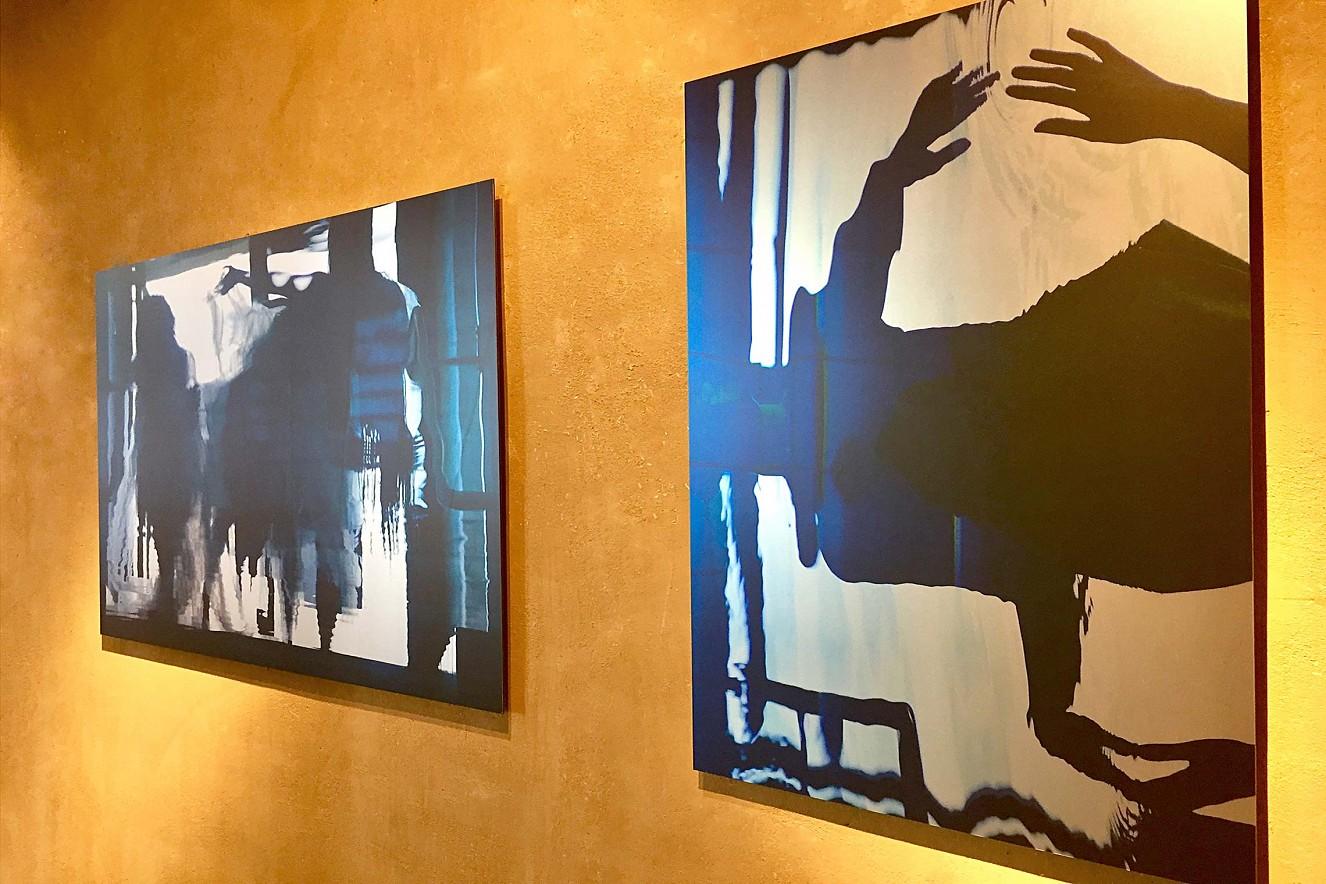 In Perpetuum und Tintig 90x130 cm und 65 x110 cm Fine Art Print Metallic auf Aludibond