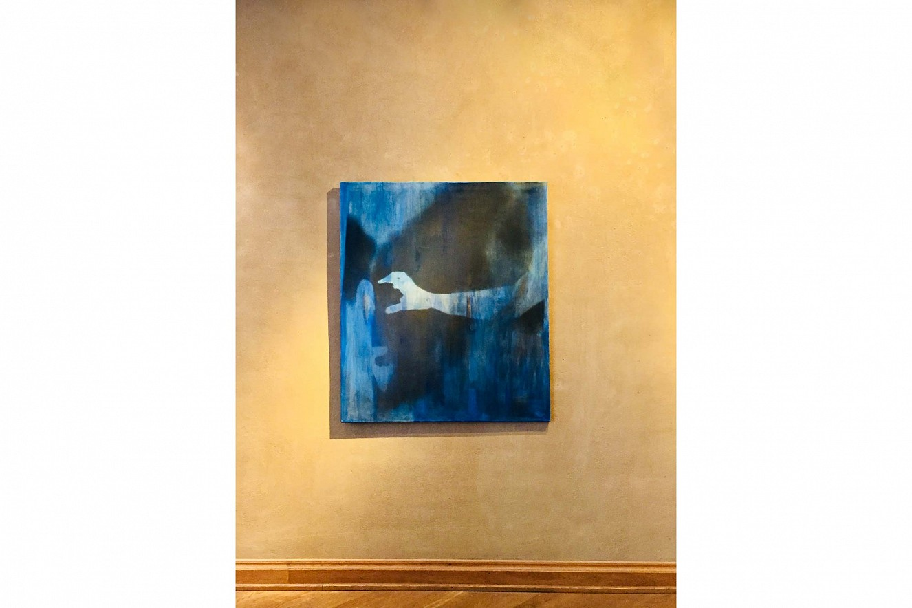 Hand Schatten  10x15 cm und 60x110 cm, Tempera auf Photocanvas, Keilrahmen