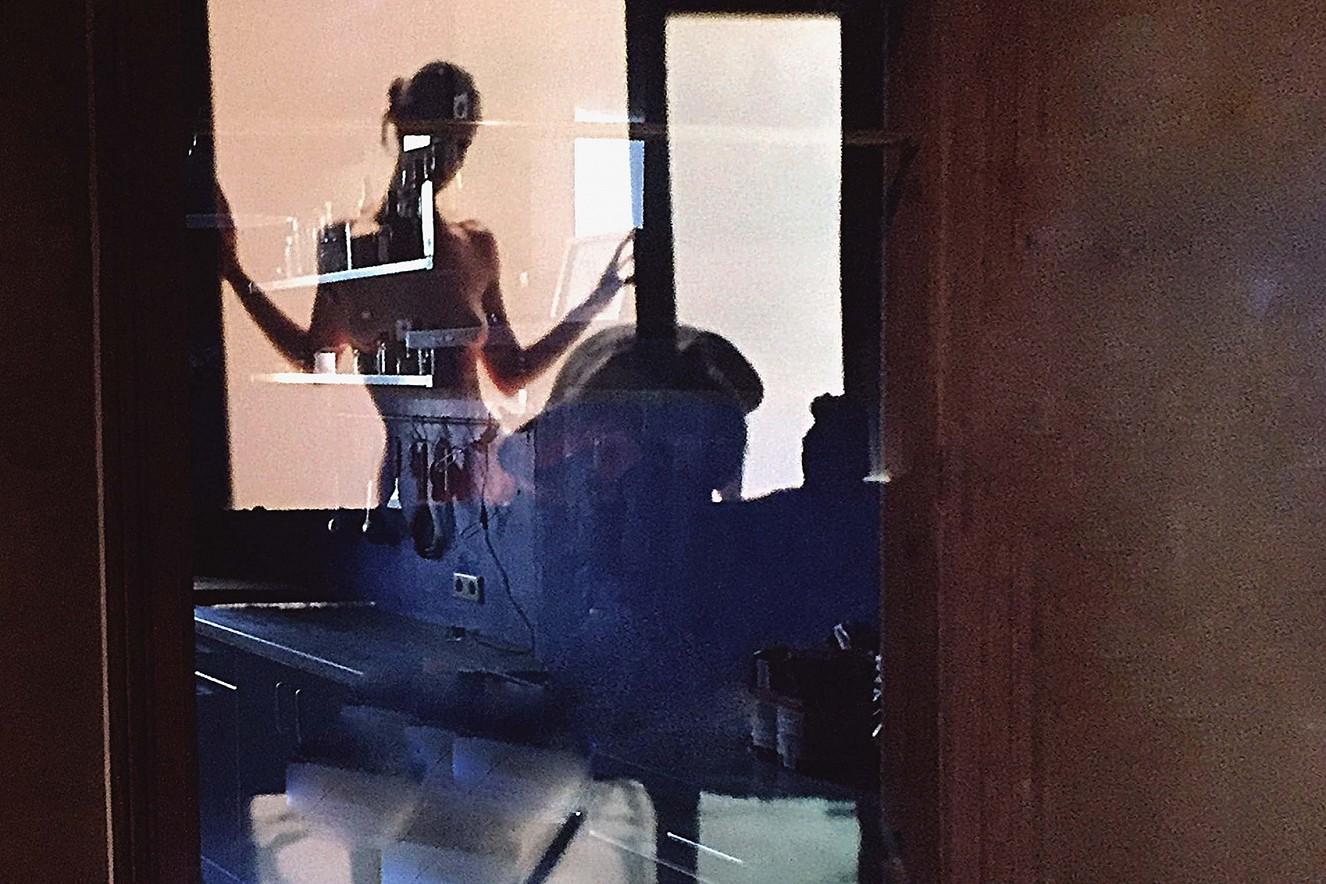 Schöne Aussichten  113x46 cm, Cibachrome unter Glas  Ausstellung Galerie Gondwana, Berlin