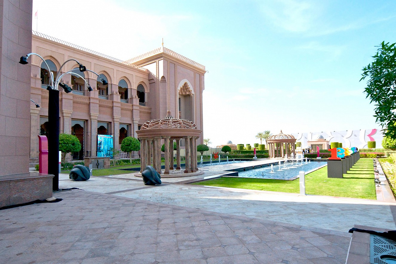 Blend, Outdoor Exhibition view Beyond Section, Art Abu Dhabi Emirates Palace, Bait Muzna Gallery, Oman