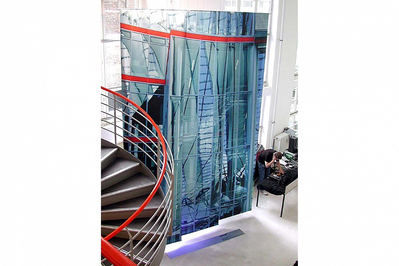 Blend, Side View   5x3m, Fine Art print metallic  das foto GmbH, photo factory & Lab, Berlin