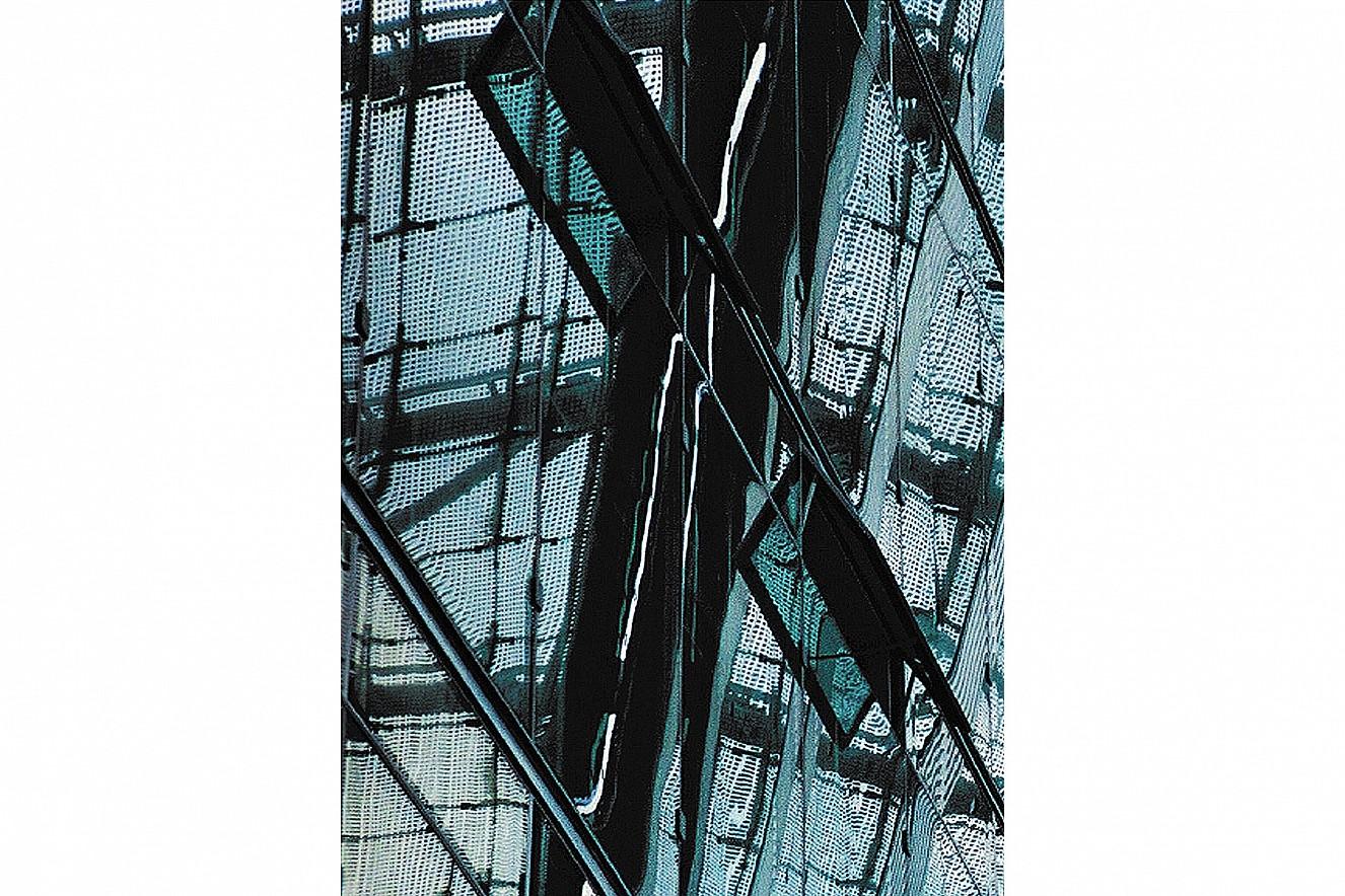 Residence-Insure, Teil I  Fine Art Print metallic on Aludibond  130x90 cm, 1999/2019