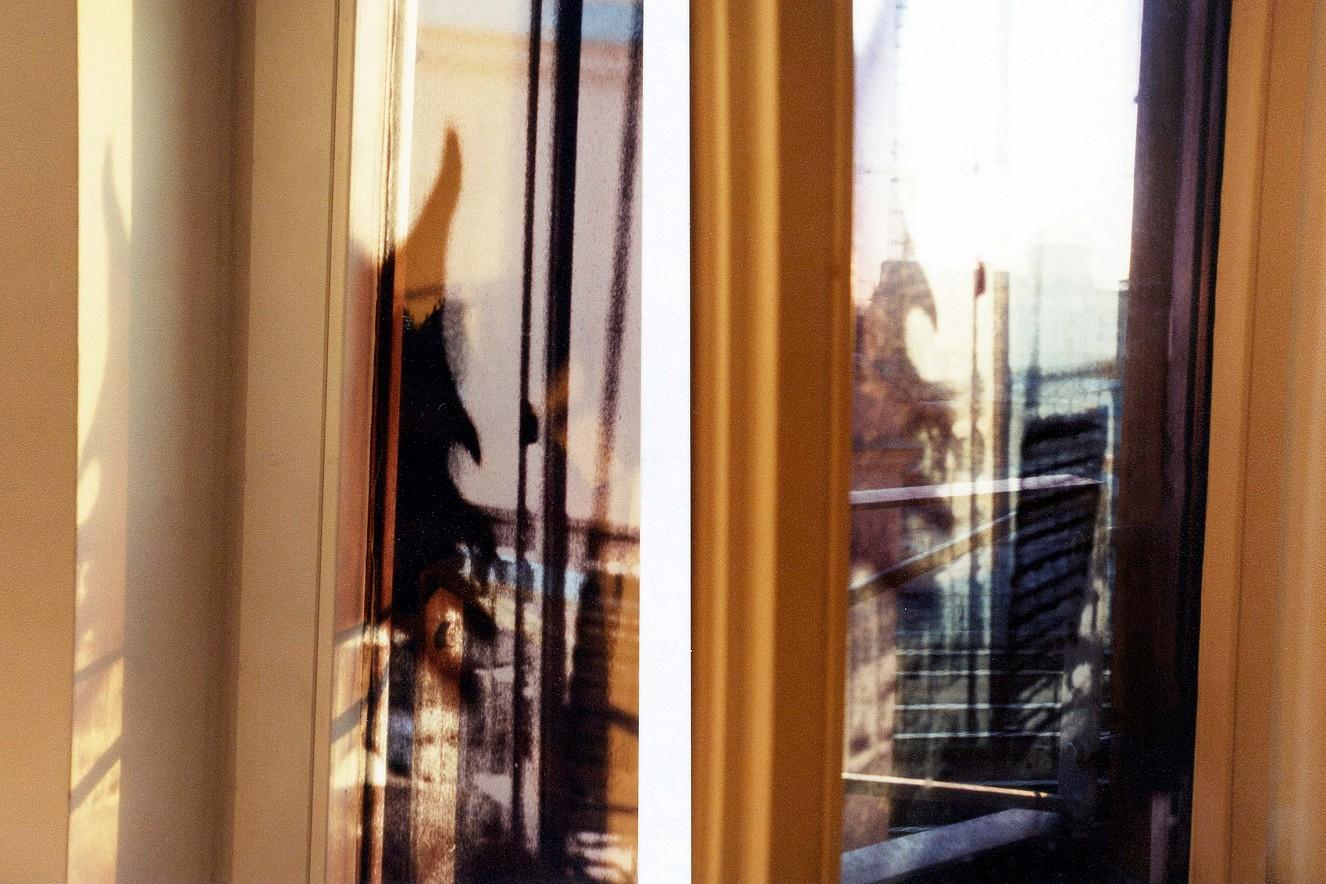 Capital  Window View, Foto auf Glas im Fenster,   ca. 2,5 qm, art\'otel Luise, Berlin
