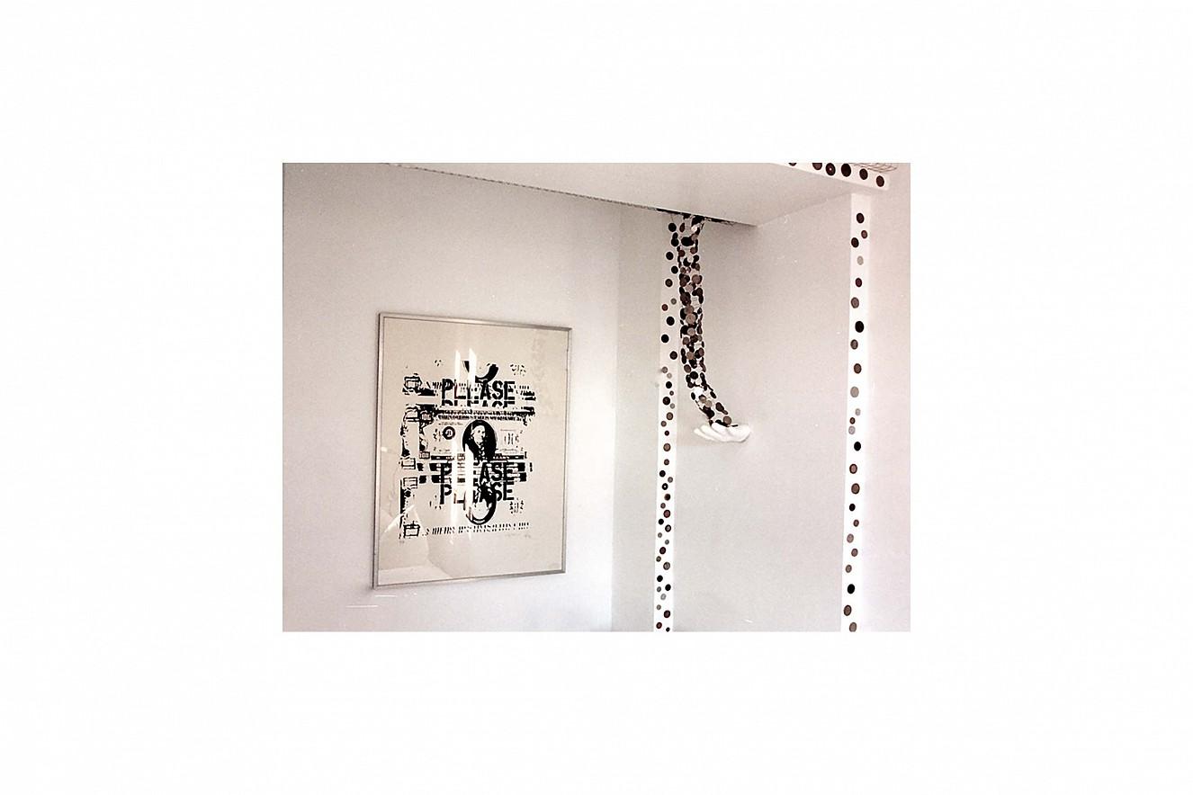 Capital  Silkscreen on paper under glass, framed  100x70 cm, art\'otel Luise, Berlin