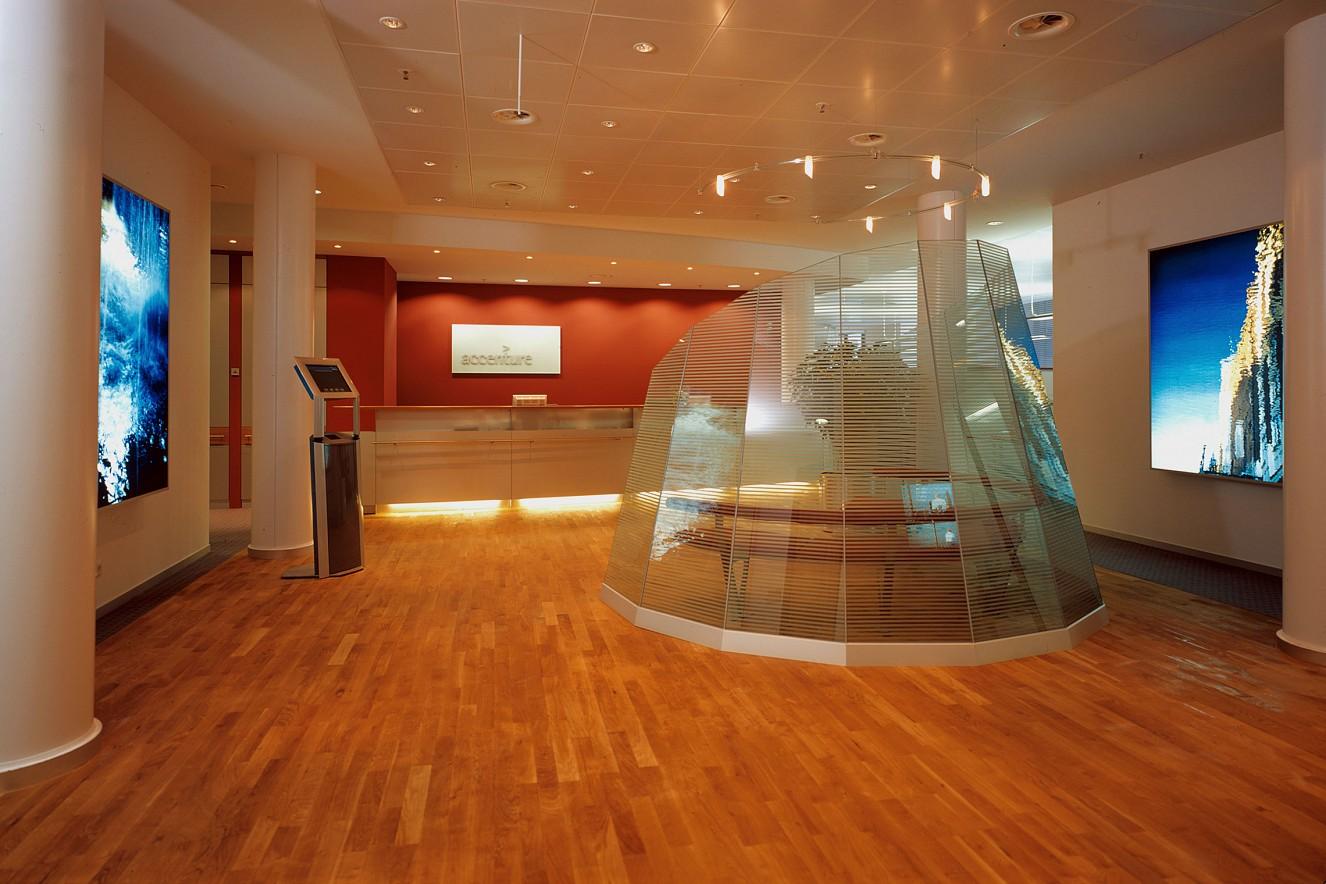 Spring and Spiegel-Bleichen Endura translucent in Lightbox je 200x150 cm, 2001