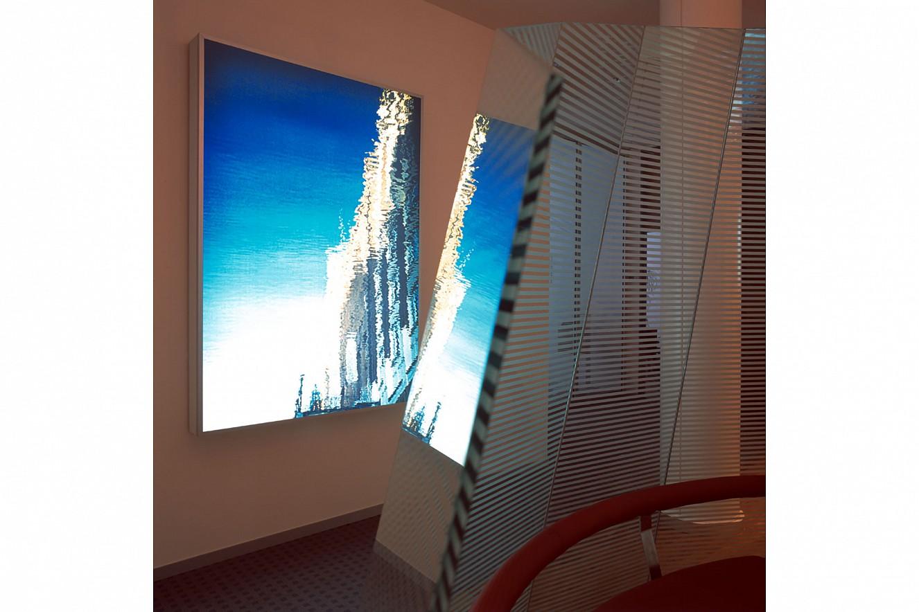 Spiegel-Bleichen  Endura translucent in Lightbox  200x150 cm, 2001