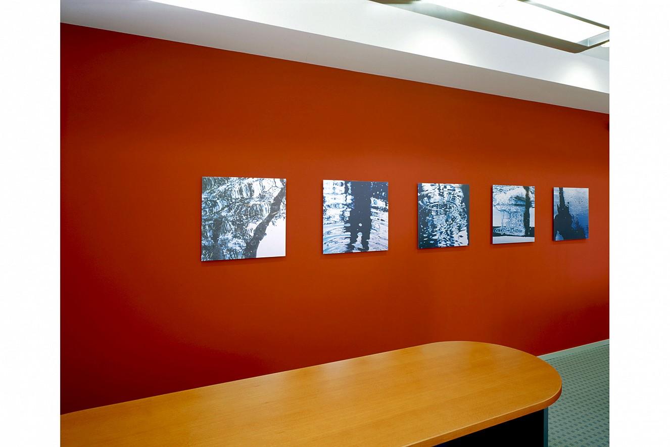 Water Reflections  Fine Art Print metallic on Aludibond  each 60x60 cm, 2001