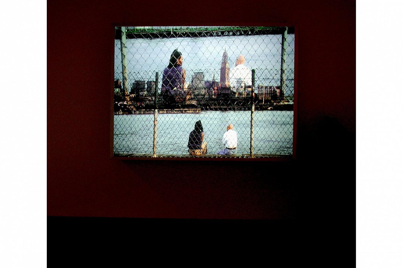Remaining  Endura translucent in Lightbox  100x70 cm, 2001